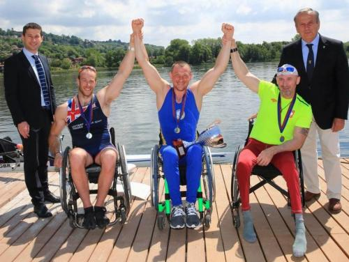 Regaty 11 Gavirate International Para-Rowing